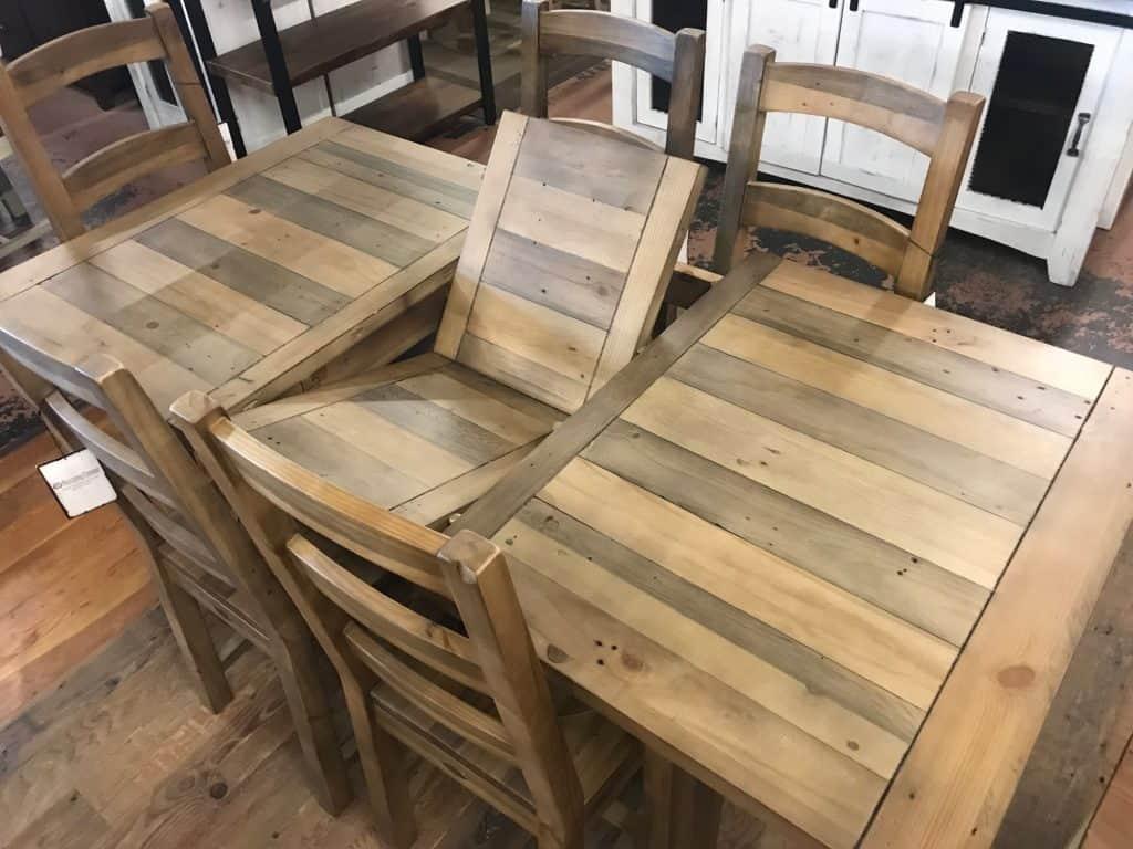 Rustic Erfly Leaf Table Sets Self