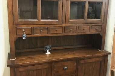 Large buffet/hutch - Coffee Bean color